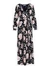 Granatowo-Różowa Sukienka Joyous