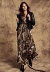 Ciemnozielona Sukienka Allotrope