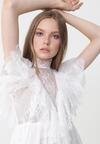 Biała Sukienka Characteriz