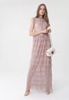 Ciemnobeżowa Sukienka Hydrogen