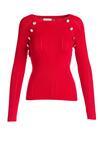 Czerwony Sweter Nitrogen