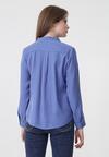 Niebieska Koszula Repetitive