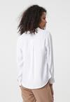 Biała Koszula Repetitive