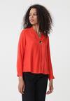 Pomarańczowa Koszula Repetitive