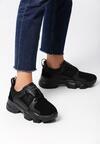 Czarne Sneakersy Triteleia