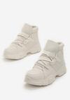 Beżowe Sneakersy Breathing Space