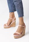 Różowe Sandały Journee