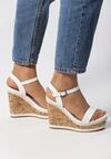 Białe Sandały Journee
