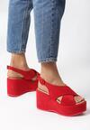 Czerwone Sandały Sawyer