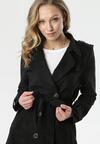 Czarny Płaszcz Chaya