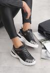 Czarne Sneakersy Sarai