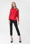 Czerwony Sweter Octavia