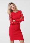 Czerwona Sukienka Mckinley