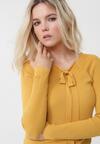 Żółty Sweter Anahi