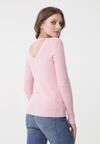 Różowy Sweter Charleigh