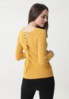 Żółty Sweter Elisa