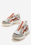 Beżowe Sneakersy Kaydence