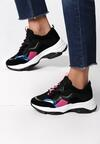 Czarne Sneakersy Kaydence
