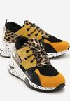 Żółte Sneakersy Temperance