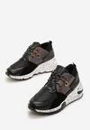 Czarne Sneakersy Temperance