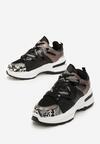 Czarne Sneakersy Aleena