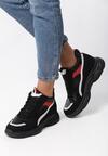 Czarne Sneakersy Baylee