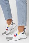 Biało-Szare Sneakersy Priscilla