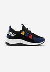 Czarno-Niebieskie Sneakersy Priscilla