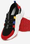 Czarno-Czerwone Sneakersy Jayda