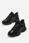 Czarne Sneakersy Addilynn