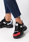 Czarne Sneakersy Zariyah