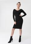 Czarna Sukienka Roselyn