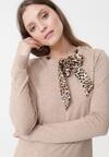 Beżowy Sweter Leyla