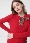 Czerwony Sweter Leyla
