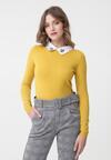 Żółty Sweter Ryann
