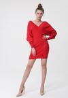 Czerwona Sukienka Emilee