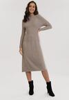 Beżowa Sukienka Laylah