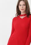 Czerwony Sweter Braylee