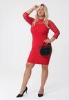 Czerwona Sukienka Nanette