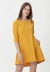 Żółta Sukienka Odelia