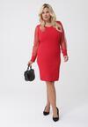 Czerwona Sukienka Chantal