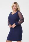Ciemnoniebieska Sukienka Chantal