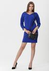 Niebieska Sukienka Charnelle