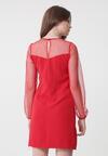 Czerwona Sukienka Peaches