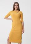 Żółta Sukienka Elowen