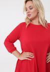 Czerwona Sukienka Leanne