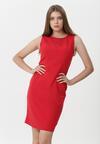 Czerwona Sukienka Kirsten