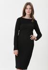 Czarna Sukienka Aerith