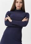 Ciemnoniebieska Sukienka Ivette