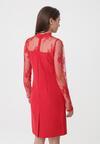 Czerwona Sukienka Pretty Unique
